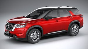 Nissan Pathfinder 2022 model