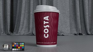 coffee cup model