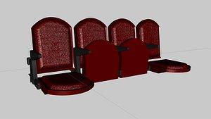 arena seats model