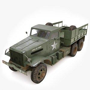 3D truck cargo 666