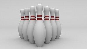 Bowling pin model