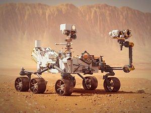 Perseverance Mars Rover 3D