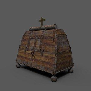 3D medieval box