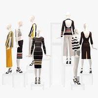 3D Showroom Fashion Store 008