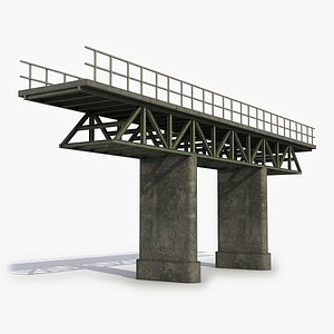 Modular Bridge 26 3D Model 3D model