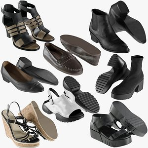 realistic heels collections 3D