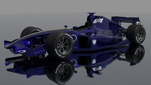 formula1 car model