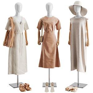 Clothes Set 03 3D model