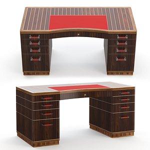 3D Riviera rouge desk