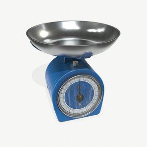 3D Kitchen Scales