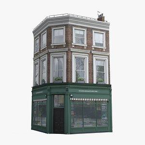 3D model London  Townhouse 04