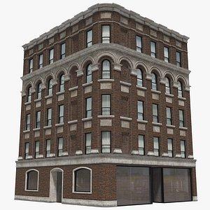 3D model Manhattan Building 09-8K PBR Textures