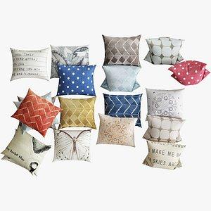 pillows 11 3d model