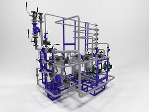 Heating unit 0609 3D model