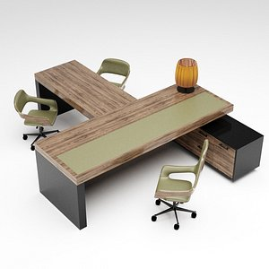 3D Office furniture collection 1 model