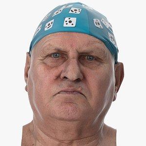 Homer Human Head Neutral AU0 Clean Scan 3D model