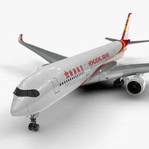 a350-900 hong kong airlines 3D model