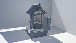 3D outhouse