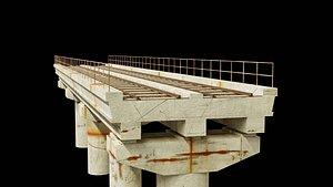 rail flyover 3D model