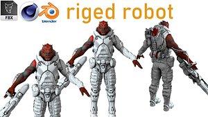 3D dragon robot bot