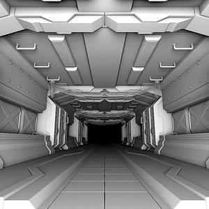visuals modular futuristic science fiction 3D model