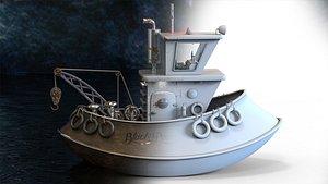 3D blackpearl ship printing