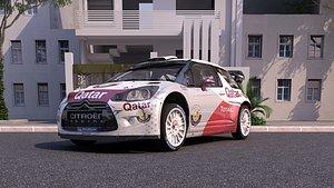 Citroen ds3 WRC 2 3D