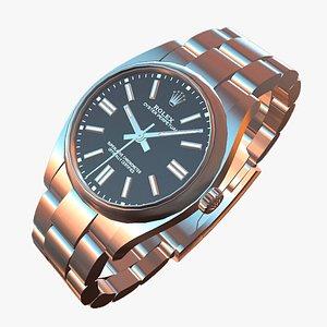 3D watch rolex model