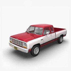 1981 Dodge Ram ClubCab model