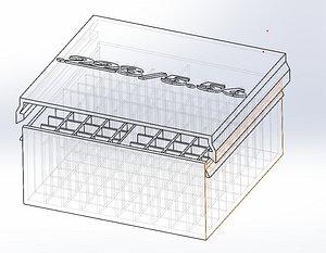 223 556 Ammo Box 100rd 3D model