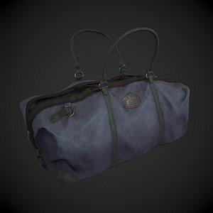 Canvas Kit Bag 3D model