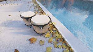 3D model bongoe