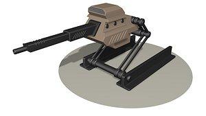 3D Heavy gun R2 model