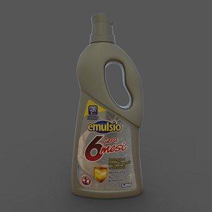 emulsion wax Sutter Emulsio Cera 6 mesi 750ml 3D model
