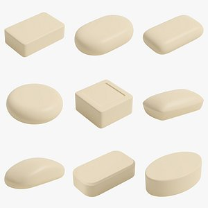 3D soaps cleaning model
