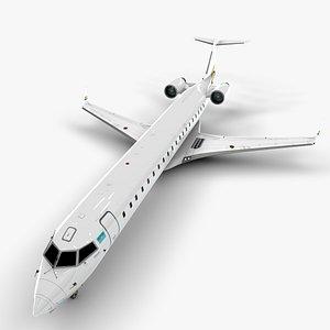 air bombardier crj 700 3D model