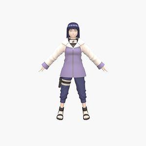 3D model Hinata