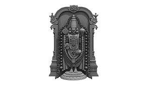 thirupathi venkateswara balaji 3D