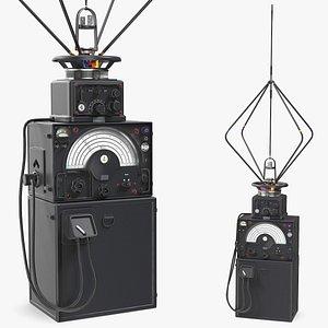 radio direction finder antenna 3D model