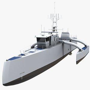 sea hunter usv vehicle model