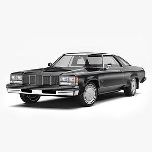 3D Oldsmobile Delta 88 1976