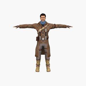 Cowboy Foster 3D model