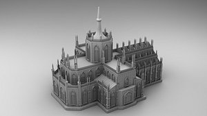 gothic 3D model