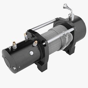 3D model heavy duty electric