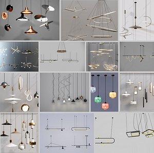 3D light collection 3D model model