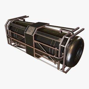Fuel Tank A 3D