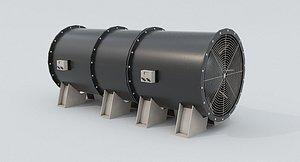 3D Ventilation Fan model