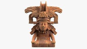 Zapotec God of Love 3D model
