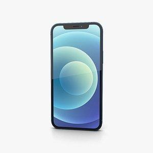 3D Apple iPhone 13 Blue