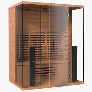 Home Infrared Sauna 3D model